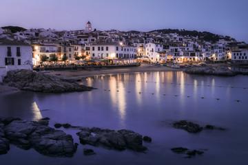 The tourist resort Palafrugell - Catalonia, Spain