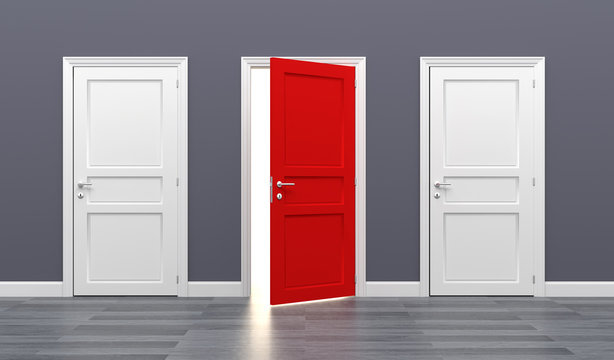 door business destination opportunity exit different