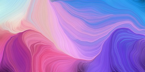 Photo sur Plexiglas Fractal waves abstract colorful swirl motion. can be used as wallpaper, background graphic or texture. graphic illustration with light pastel purple, pastel violet and royal blue colors