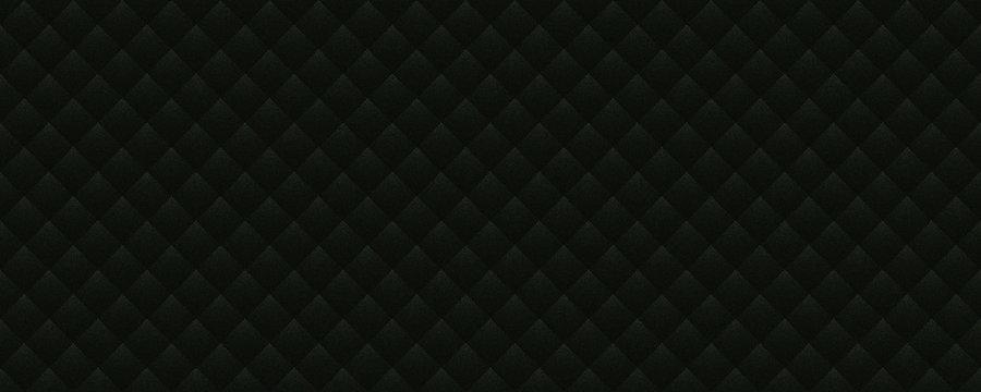 Diamond sofa leather texture with black color