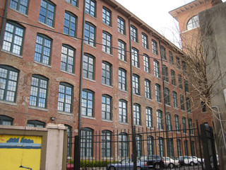 old factory building loft space industrial architecture