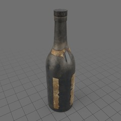 Old alcohol bottle 2