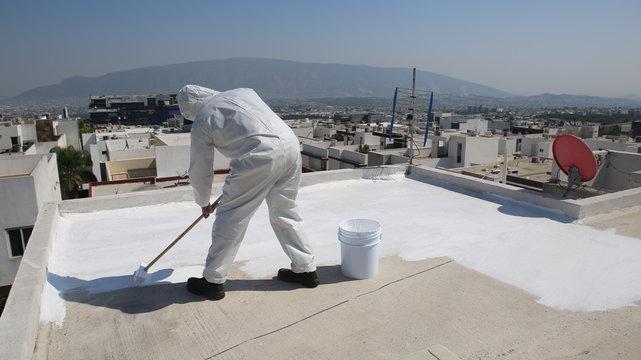 Roof Coating Installation