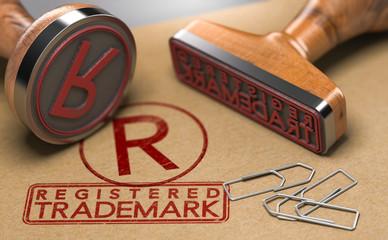 Registered Trademark Concept
