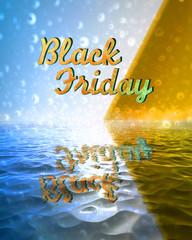 black-friday testo con mare e sole