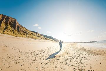 Smartphone Fotografie der Landschaft am Strand in Dänemark