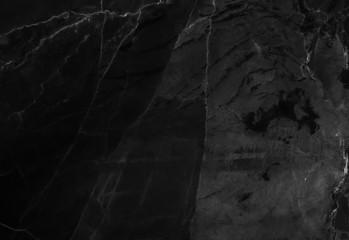 Fotobehang Betonbehang Black marble texture with natural pattern high resolution for wallpaper. background or design art work