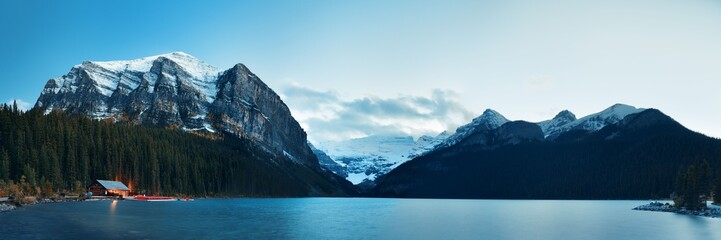 Recess Fitting Canada Lake Louise panorama