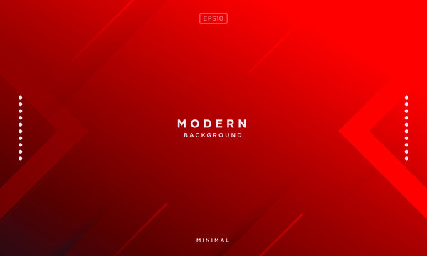 abstract red background minimal, abstract creative overlap digital background, modern landing page concept vector.