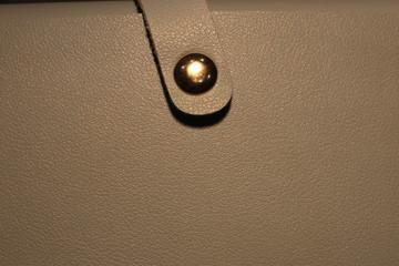 Background texture of genuine leather macro photo