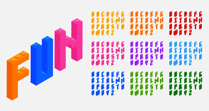 plastic blocks bricks toys alphabets letters set