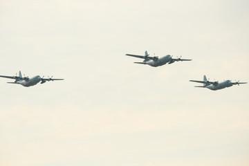 日本で行われている航空祭の写真
