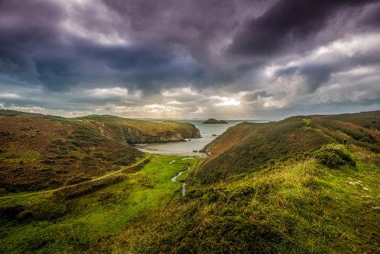 Solva, Pembrokeshire Coastline, Wales, UK