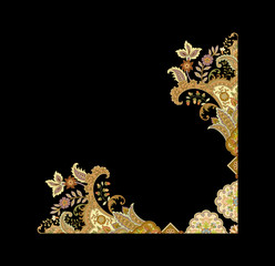 Decorative elegant luxury design.Design for cover, fabric, textile, wrapping paper .