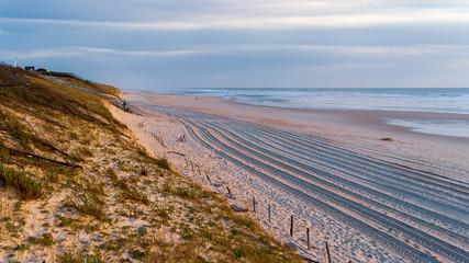 Fototapeta Mimizan, Zatoka Biskajska, Atlantyk, Francja