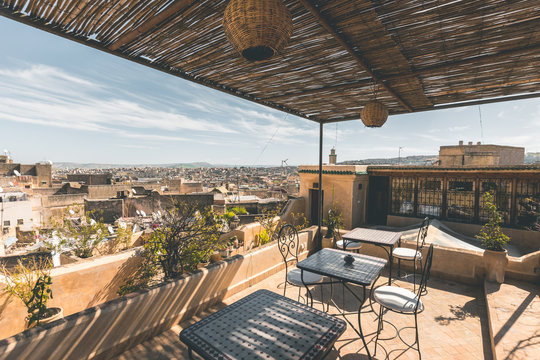 Rooftop View of Fez - Morocco