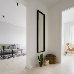 Home interior in scadinavian style
