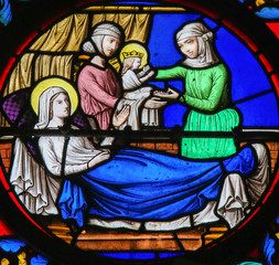 Stained Glass in Le Havre - Nativity of Saint John the Baptist