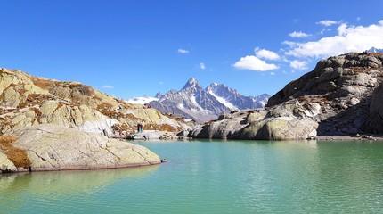 Lac Blanc, Massif des Aiguilles Rouges, Alpes françaises