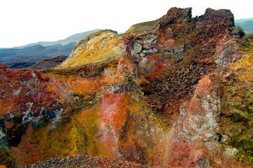 Wall Mural - Sierra Negra Crater - Galapagos - Ecuador