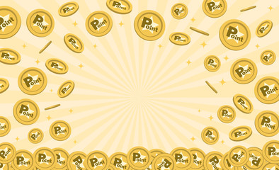 ポイントコインのフレーム