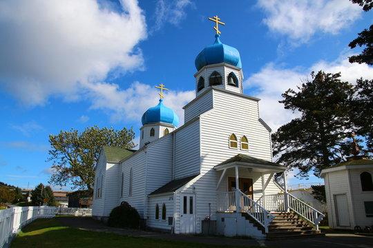 Russische Orthodoxe Kirche-Kodiak-Alaska