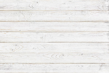 white wood texture background, natural pattern Fotomurales