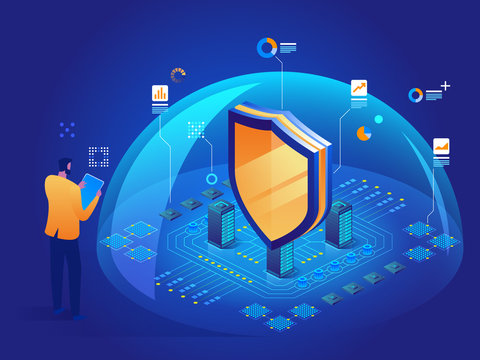 Cybersecurity malware security program Data secure