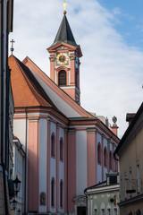 St. Paul church in Passau, Bavaria, Germany