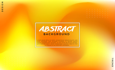 Blurred Yellow Abstract Vibrant Background Vector Eps 10