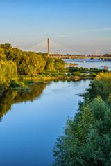 Vistula River in Warsaw