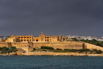 Fort Manoel on Manoel Island in Malta