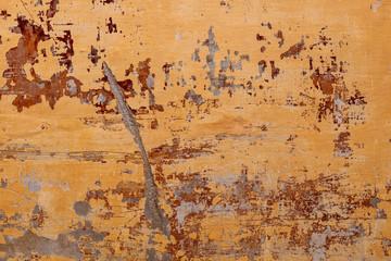 Vintage Orange Wall Background