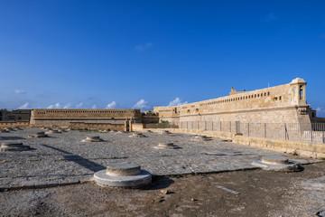 Fort Saint Elmo In Valletta Malta