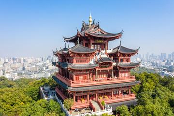 Fotobehang Bedehuis chenghuang temple