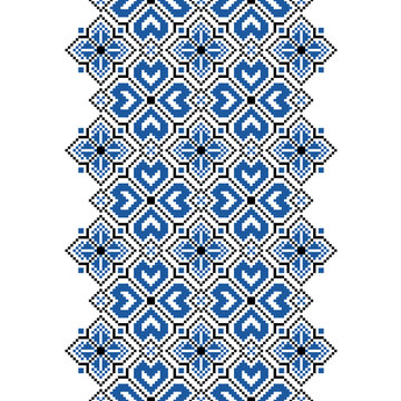 Ornament for cross stitch