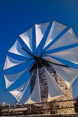 traditional windmill, Kos island , Greece