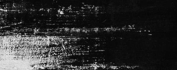 Black and white painted wall texture for backgrounds