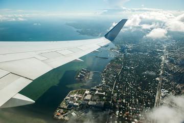 Miami beach serial view