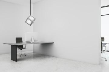 Minimalistic coworking office