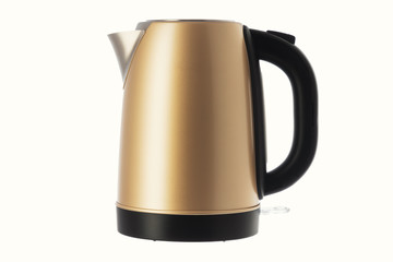Electric kettle jug isolated on white background