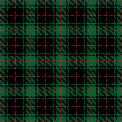 Tartan check seamless pattern. Christmas plaid background