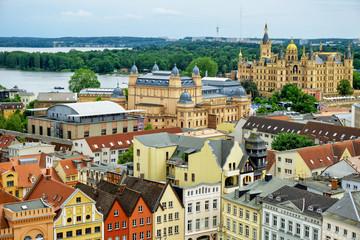 Panoramic view of Schwerin