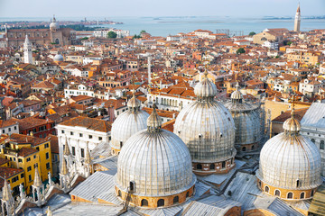 Domes of St Mark's Basilica