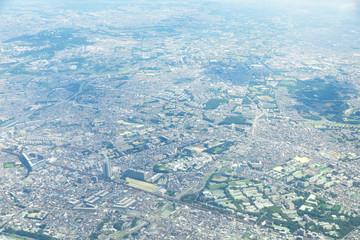 Fotomurales - 千葉市上空