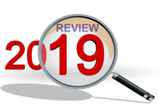 2019 review analysis  zoom on details - 3d rendering
