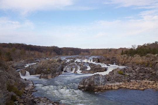 Great Falls Nationalpark im Herbst