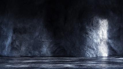 Texture background, grunge, industrial, interior. 3d illustration, 3d rendering.