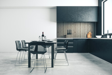 Wall Mural - Clean kitchen interior