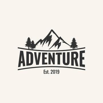 adventure logo design inspiration, vector eps 10
